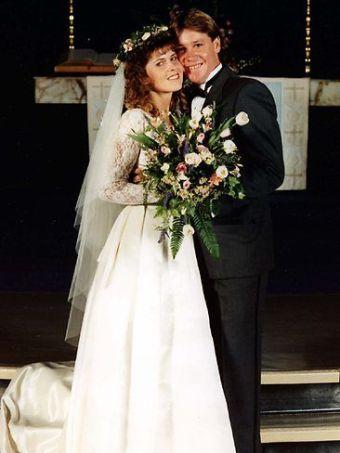 Terri și Steve s-au căsătorit în 1992.