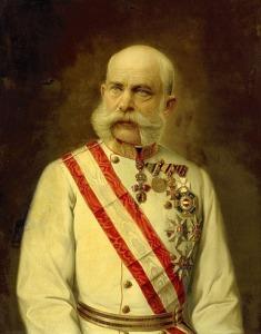 Împăratul Franz Joseph al Austriei